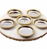 Marble seder plate