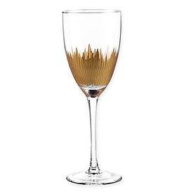Lava Gold Stem Glass s/4