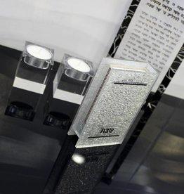 Silver Glitter Lucite Match Box