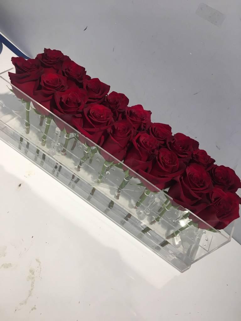 18 Flower Box w/ Clear Lid