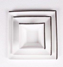 Hammered Platinum 12 pc Dinnerware
