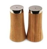 Onyx & wood salt & pepper