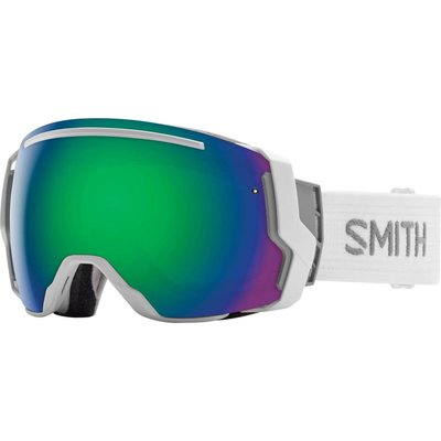 SMITH SMITH I/O 7 Goggle White Frame/Green Sol X Mirror/Red Sensor Mirror Lens