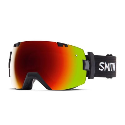SMITH I/OX RED SOL-X MIRROR BLUE SENSOR MIRROR BLACK