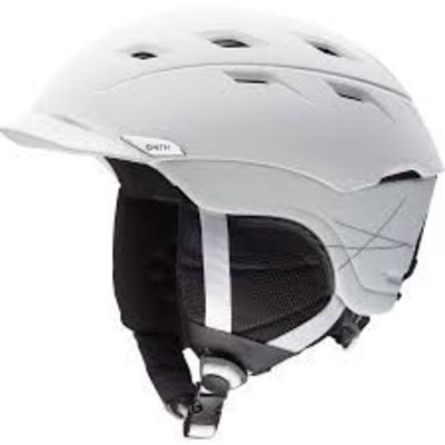 SMITH SMITH Variance Helmet: Matte White/Small