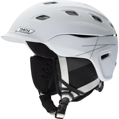 SMITH SMITH Vantage Helmet: Matte White/Medium