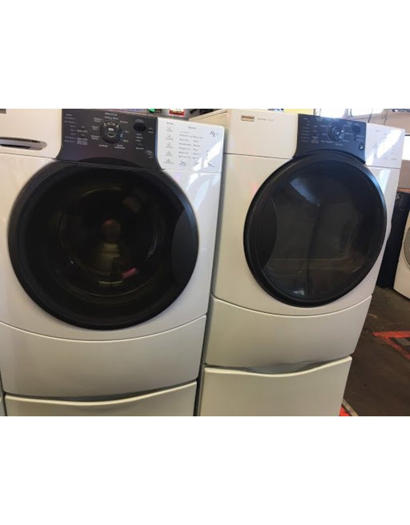 Kenmore Elite He3t Front Load Washer W Pedestal Dryer