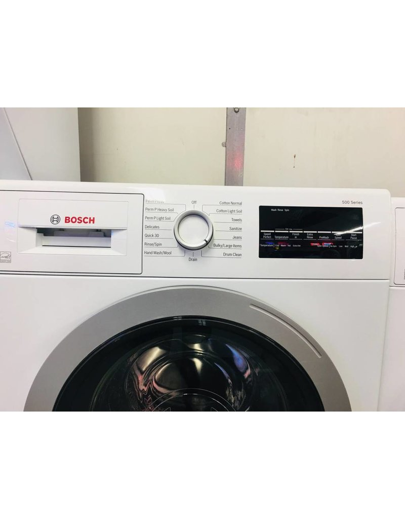 Bosch 500 Series Front Load Washer Dryer