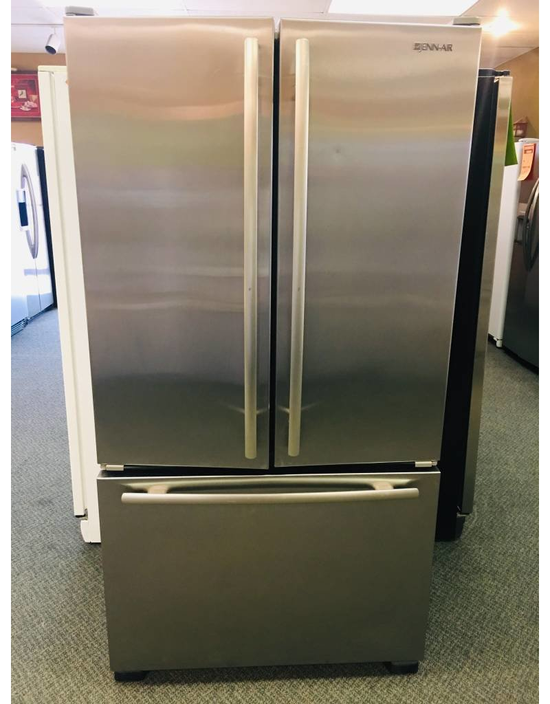 Jenn Air Stainless Steel Counter Depth French Door Fridge W Water