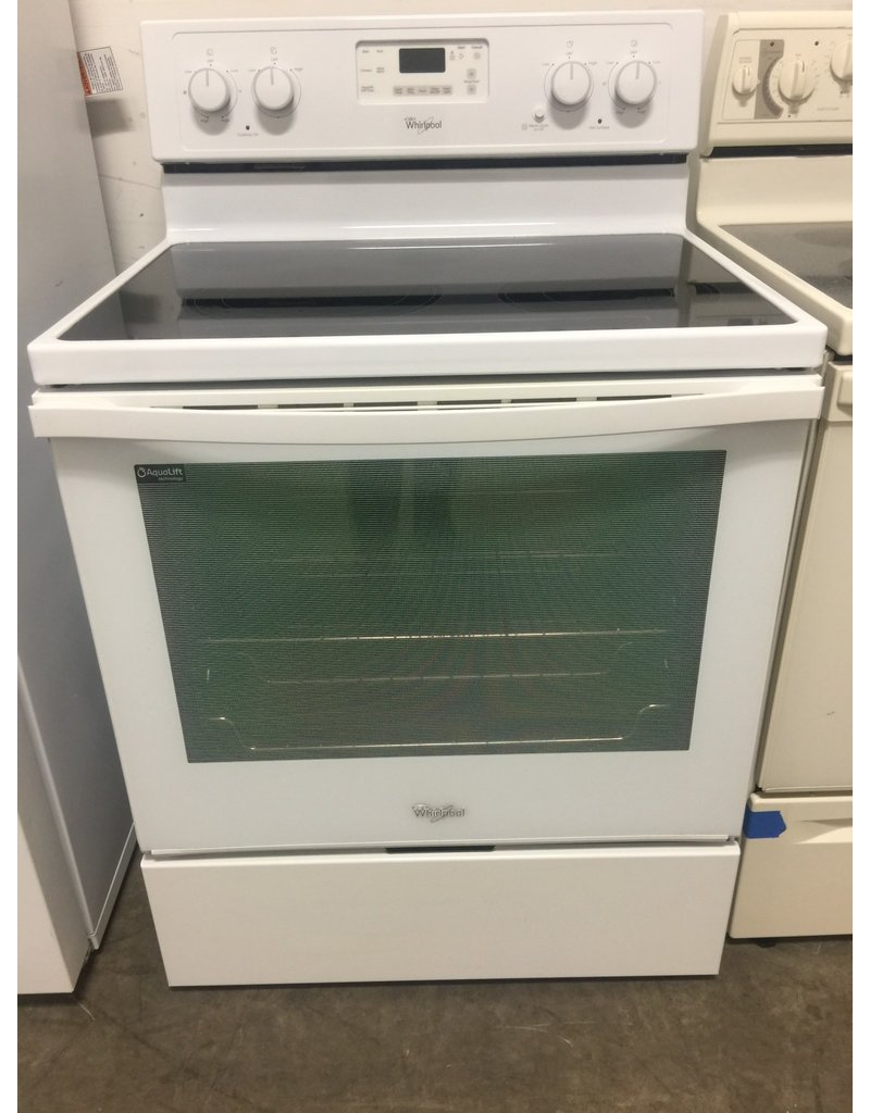 Whirlpool Gl Top Convection White Range