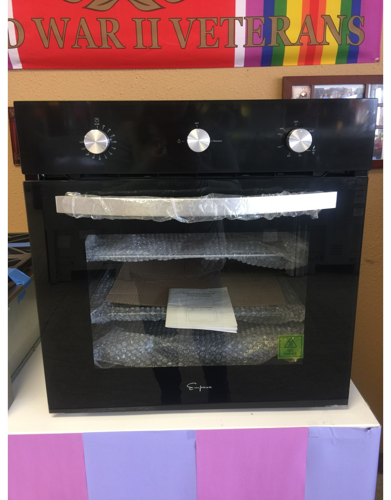 NEW!!! GAS SINGLE WALL OVEN UNIT
