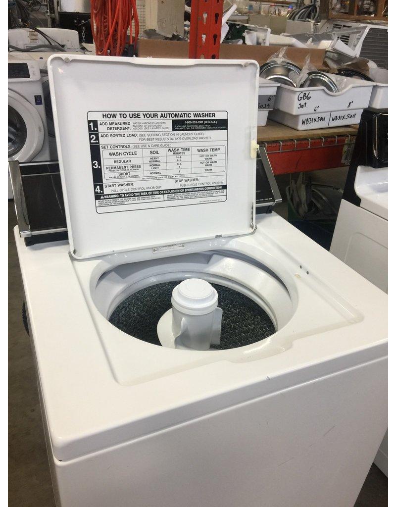 Where to put detergent in washing machine top load