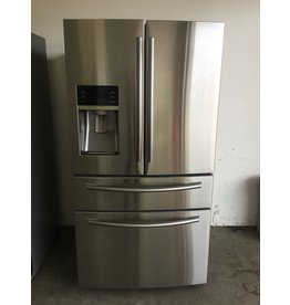 SAMSUNG SAMSUNG STAINLESS FRENCH DOOR REFRIGERATOR W/ICE & WATER DISPENSER