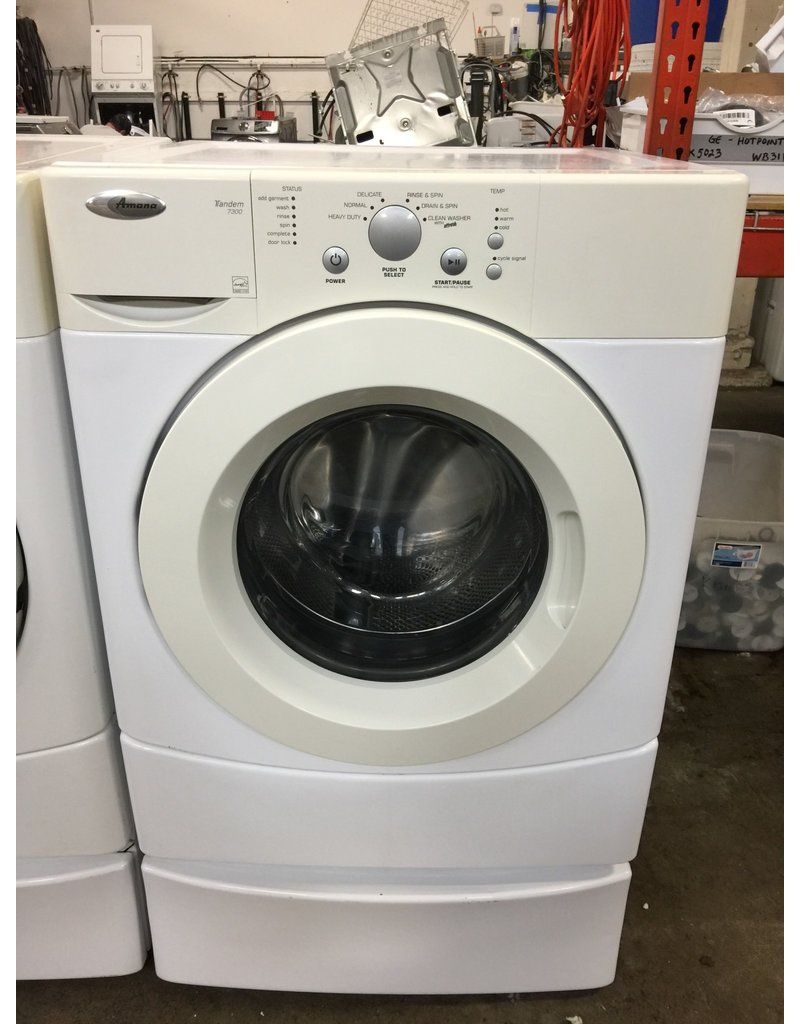 Amana Amana Tandem 7300 Front Load Washing Machine W