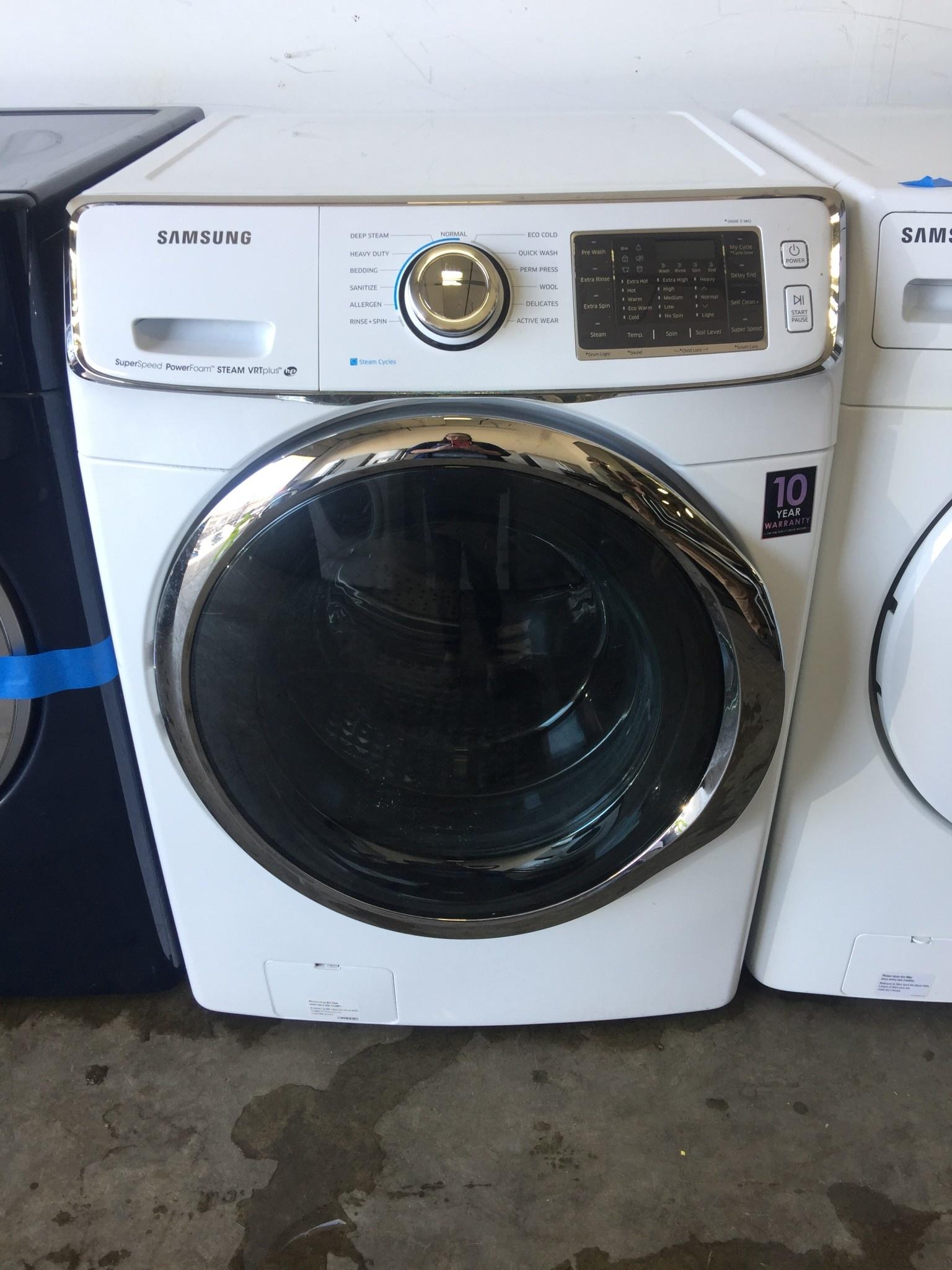 Samsung Samsung Front Load Steam Washing Machine