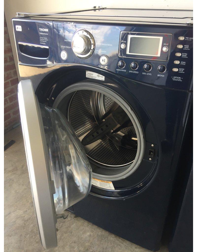 Lg Lg Tromm Front Load Steam Blue Washing Machine