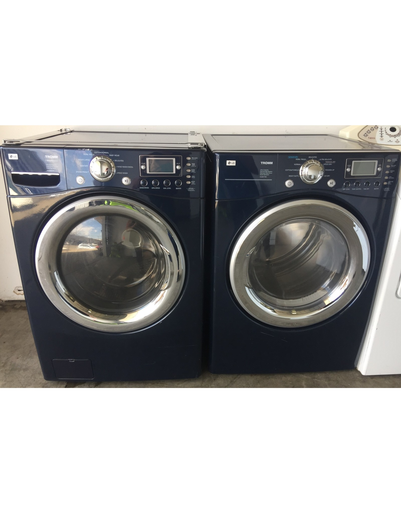 LG LG TROMM FRONT LOAD BLUE DRYER