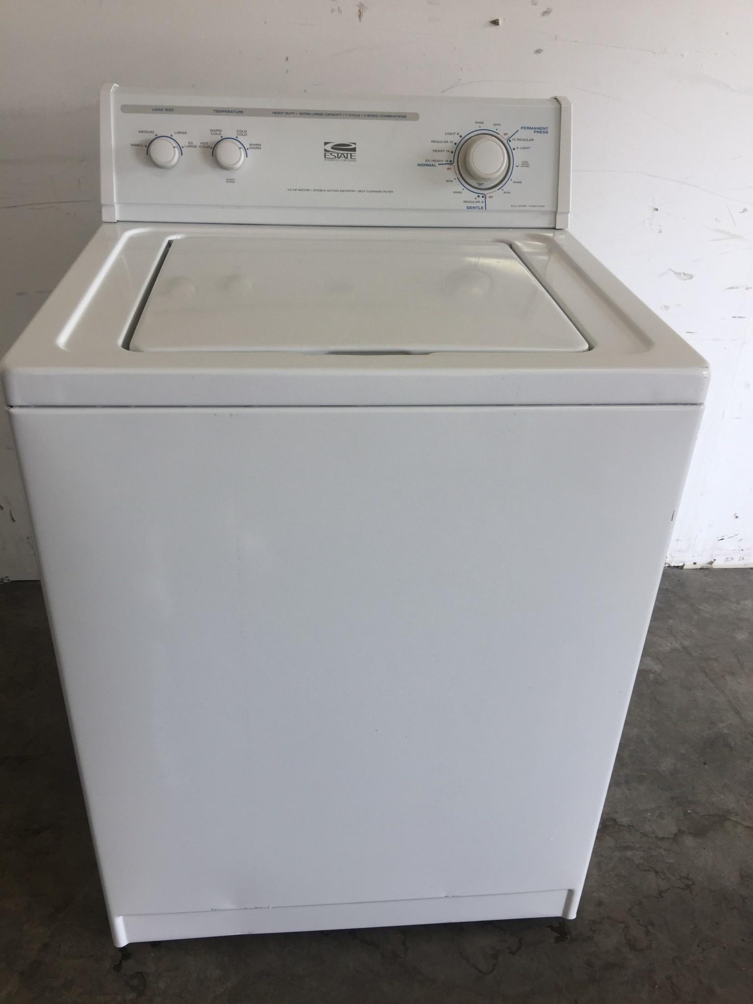 Estate Estate Top Load Washing Machine Discount City