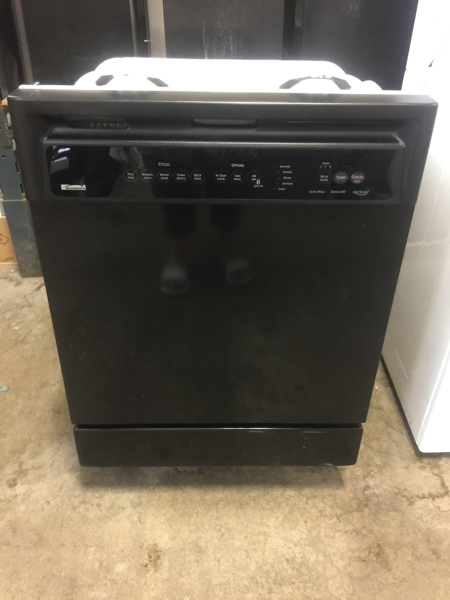 Kenmore Kenmore Black Dishwasher Discount City Appliance