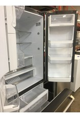 GE GE STAINLESS FRENCH DOOR REFRIGERATOR W/ICE & WATER DISPENSER