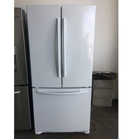 SAMSUNG SAMSUNG FRENCH DOOR WHITE REFRIGERATOR W/ICE MAKER