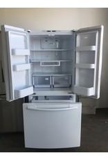 SAMSUNG SAMSUNG FRENCH DOOR WHITE REFRIGERATOR W/ICE MAKER