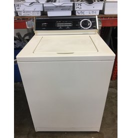WHIRLPOOL WHIRLPOOL 8-CYCLE TOP LOAD BISQUE WASHING MACHINE