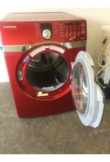 SAMSUNG SAMSUNG FRONT LOAD RED STEAM DRYER