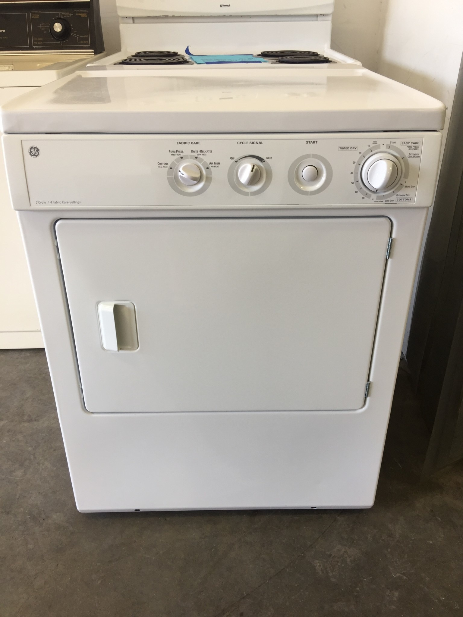 Ge Ge 3 Cycle Front Load Dryer Discount City Appliance