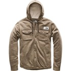 The North Face Men's Sherpa Patrol Snap-Up Hoodie Beech Green Heather