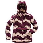 The North Face Women's Campshire Pullover Hoodie Dune Beige California Basket Print