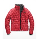 The North Face Women's Holladown Crop Jacket TNF Red