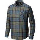 Mountain Hardwear Men's Franklin Long Sleeve Shirt Machine Blue