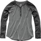 The North Face Women's In-A-Flash Raglan Henley TNF Medium Grey Heather/TNF Dark Grey Heather