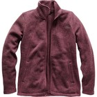 The North Face Women's Crescent Full Zip Fig Heather