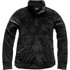 The North Face Women's Mountain Sweatshirt _ Snap TNF Black/TNF Black