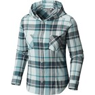 Mountain Hardwear Women's Acadia Stretch Hooded Long Sleeve Shirt Lakeshore Blue