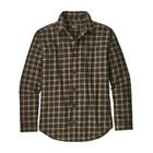 Patagonia Men's L/S Pima Cotton Shirt Lodge Pine: Black
