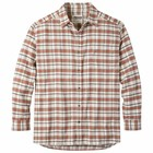 Mountain Khakis Men's Peden Flannel Shirt Cream Plaid