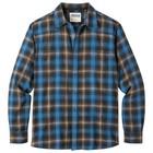 Mountain Khakis Men's Saloon Flannel Shirt Black Plaid