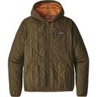 Patagonia Ms Diamond Quilted Bomber Hoody Sediment