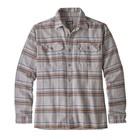 Patagonia Men's L/S Fjord Flannel Shirt Activist: Feather Grey