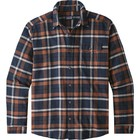 Patagonia Men's LW Fjord Flannel Shirt Tom's Place: Navy Blue