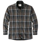 Mountain Khakis Men's Christopher Fleece Lined Shirt Black Plaid
