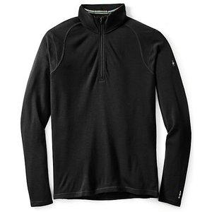 SmartWool Men's Merino 250 Baselayer Pattern 1/4 Zip Black