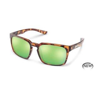 SunCloud Suncloud Hundo Tortoise/PLR Green Mirror