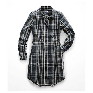 The North Face Women's Campridge Dress Urban Navy Barrows Plaid