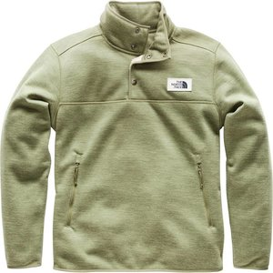 The North Face Men's Sherpa Patrol _ Snap Pullover Four Leaf Clover Heather