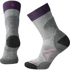 SmartWool Women's PhD Pro Approach Crew LIGHT GRAY