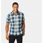 Mountain Hardwear Sinks Canyon Short Sleeve Shirt Fogbank Men's